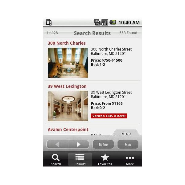 Apartment Finding App: Find Floor Plans On Android