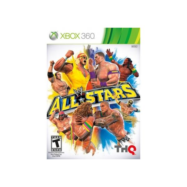 WWE All Stars Cover Art