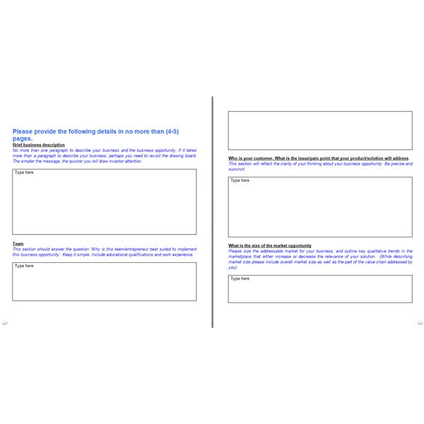 Creating a business model template in ms word format for free download business model template click link to download wajeb Choice Image