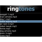 Ringtones XL BlackBerry App