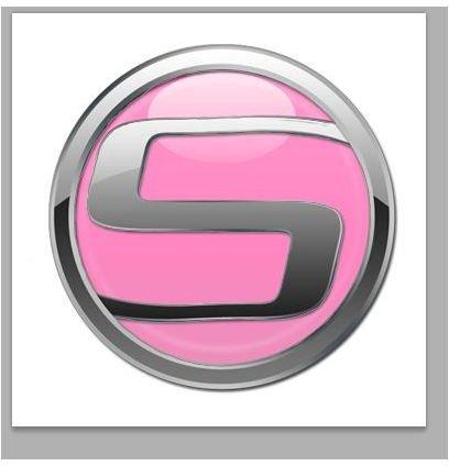 Pink Car Logo