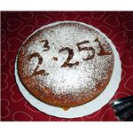 Math factor cake by flickr user Arenamontanus, used under creative commons license