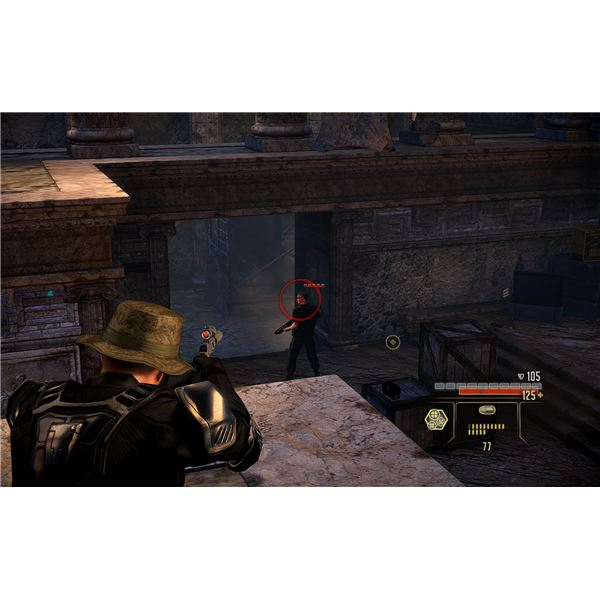 Alpha Protocol Walkthrough - The Catacombs in the Ruins in Rome