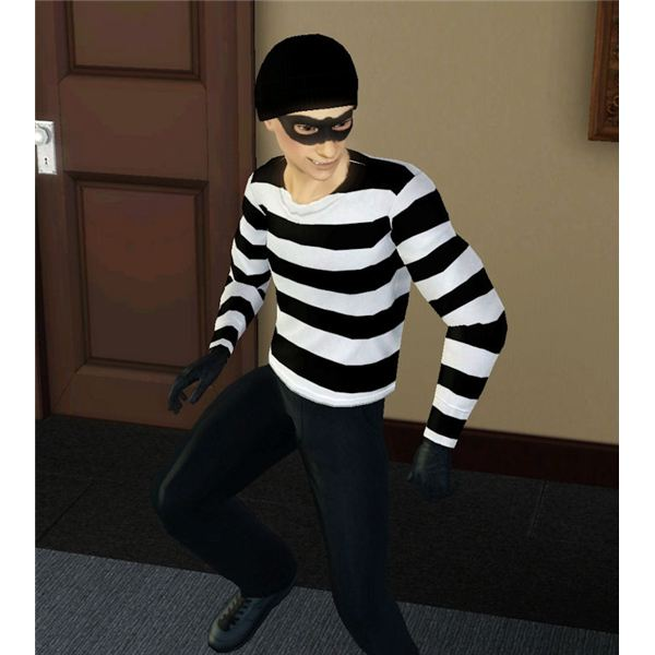 The Sims 3 Thief Career