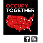 Occupy Together map Oct 1 2011