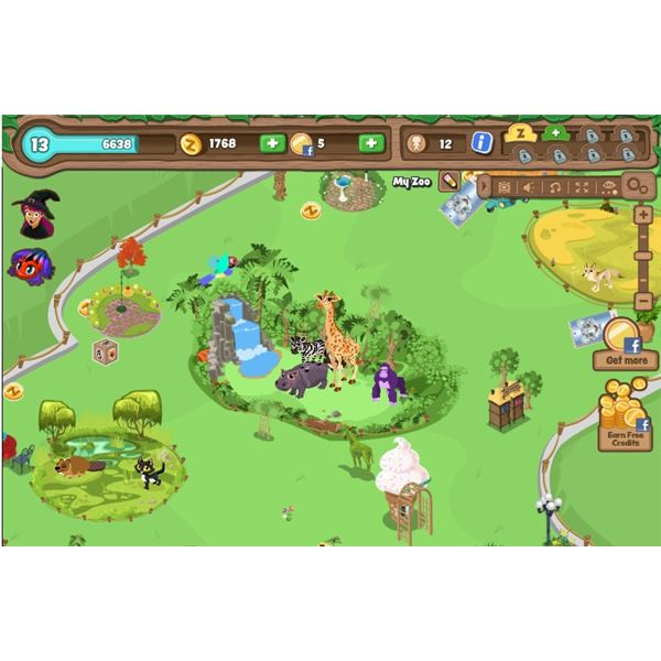 Zoo Builder Game, a free online game on Games Free