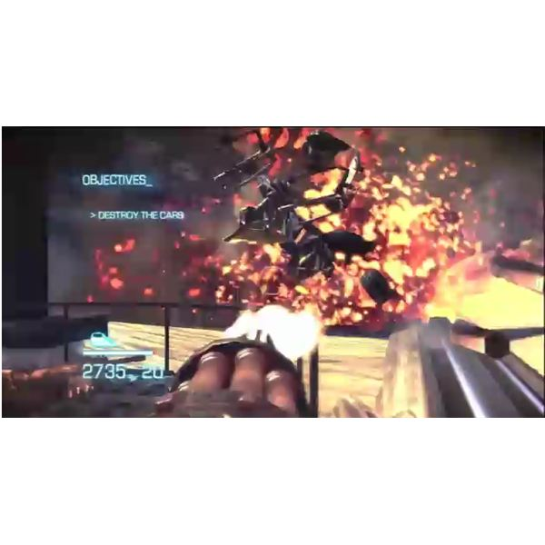 Bulletstorm Waltkhrough - The Train Escape - Act 1 - Chapter 2 - The Last Train from Explosion Town