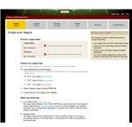 Create Your League Screen