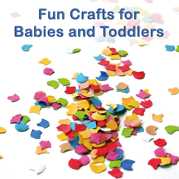 Tiny Crafts: Baby/Toddler Crafts for Your Little One