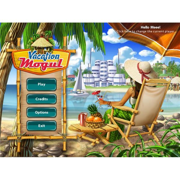vacation mogul start screen