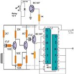 Simple Clap Switch Circuit Diagram Using IC 4013, Image