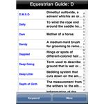 The Equestrian Guide iPhone App