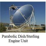 parabolic dish stirling engine