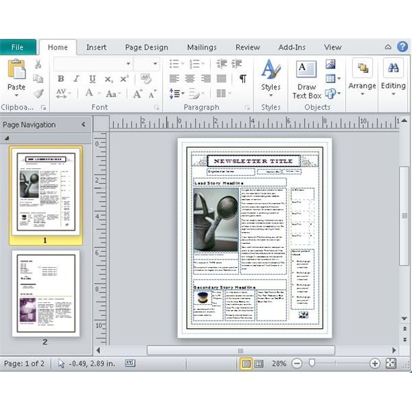 convert a microsoft publisher item to jpeg