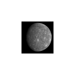 Mercury Contains Water At Its Poles - Image Courtesy NASA-JPL