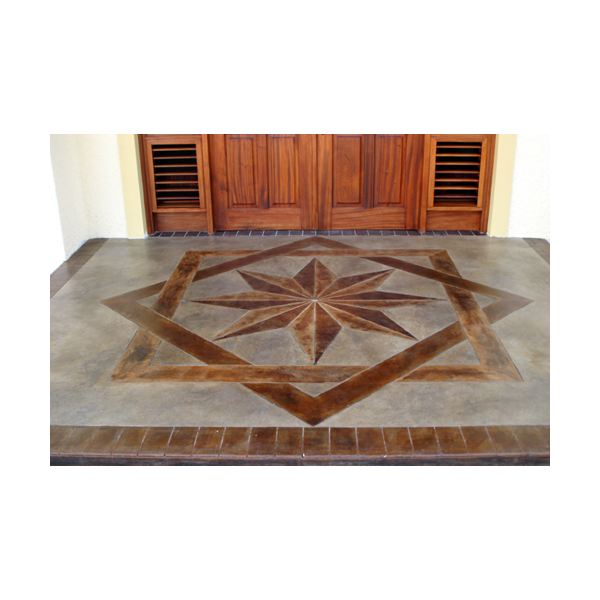 About Decorative Concrete, the Textured Overlay Method, and Concrete Staining