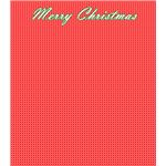 Merry Christmas Scrapbook Paper