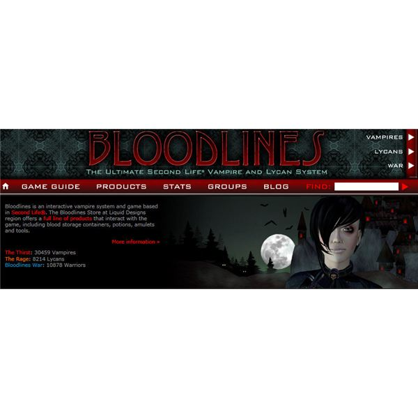 Second Life Bloodlines