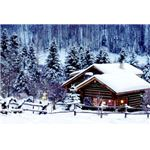 collection-winter-backgrounds-house