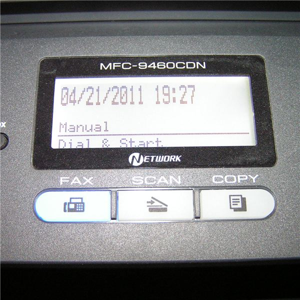 Brother MFC9460CDN MFC9560CDW Interface