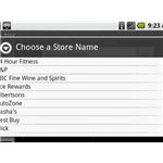 Key Ring For Google Android - Store Selector