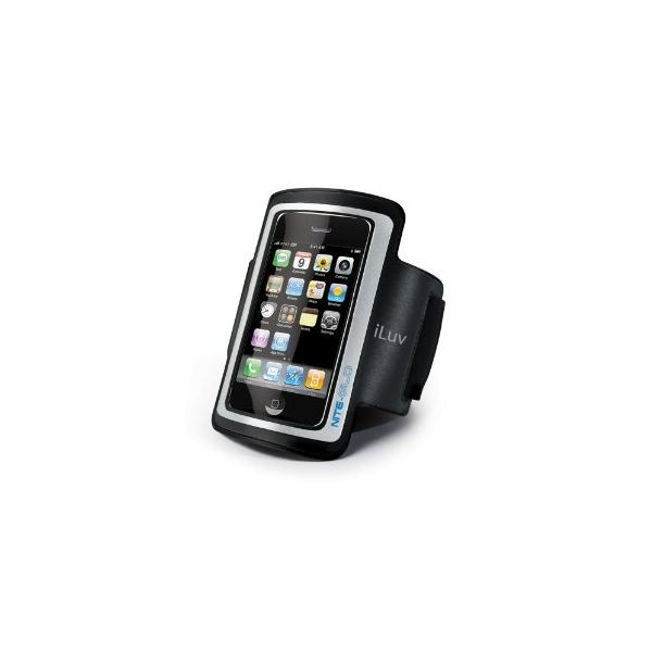 iLuv iCC212 Armband Case with Glow-in-the-Dark Frame for iPhone 4 and 3G:3GS