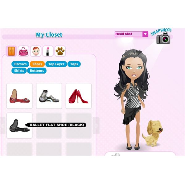 Closet in Mall World game