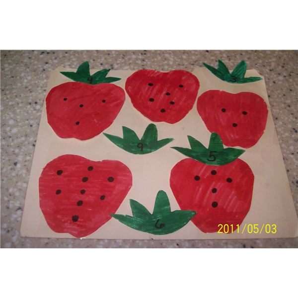 Strawberry File Folder 001