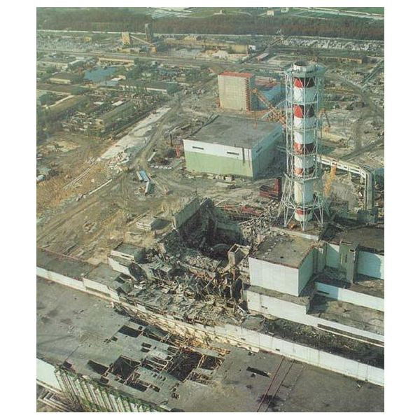 Chernobyl Disaster - Source: Wikipedia