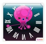 Cuteki Clock Widgets - Octopus