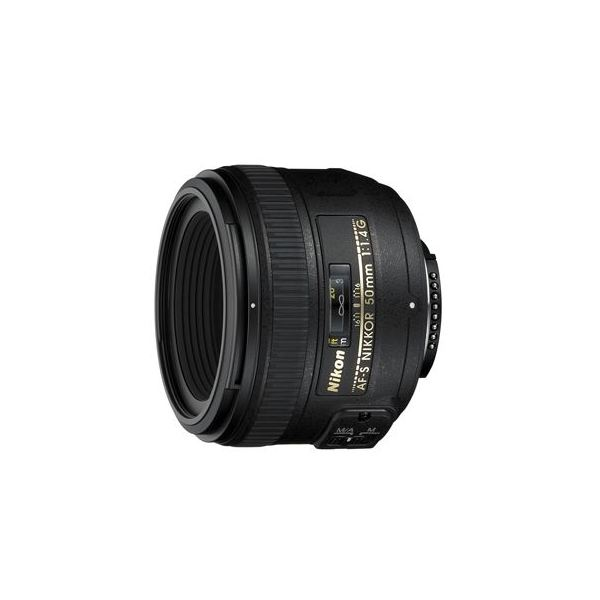 AF-S NIKKOR 50mm f/1.4G Lens for Nikon Cameras