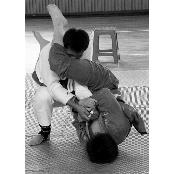 Armbar from Guard