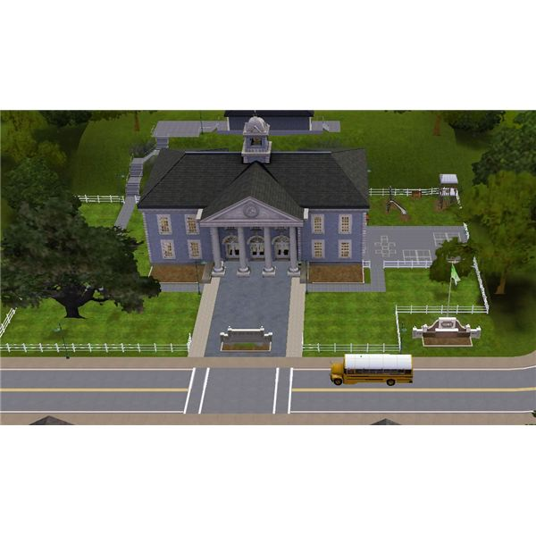 The Sims 3 School