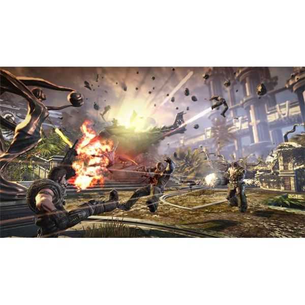 Bulletstorm is gritty, but it is also colorful.