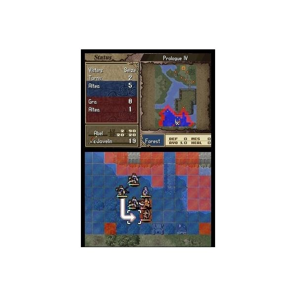 Top Nintendo DS Strategy Games - Fire Emblem Shadow Dragon