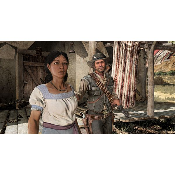 Luisa in Red Dead redemption