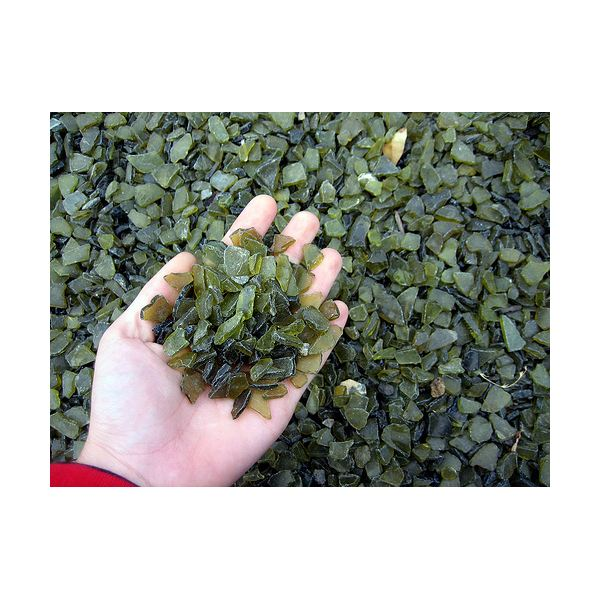Using Recycled Glass In Ponds And Landscaping About Recycled Tumbled Glass And Sea Stones In Gardening Bright Hub