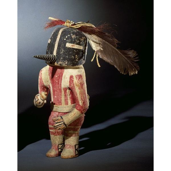 Kachina Doll (Kokopol), probably late 19th century, 04.297.5575