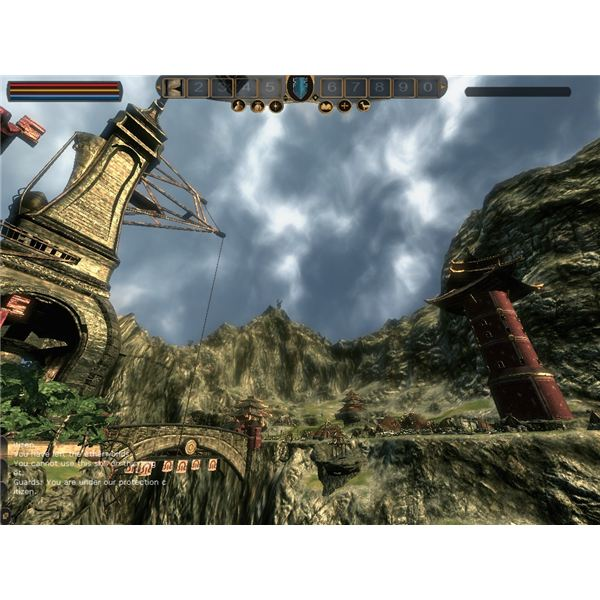 The town structure is quite good in Mortal Online