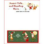 Christmas Flyer Template from Microsoft Office Online