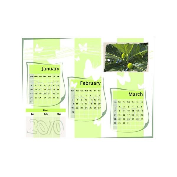 Calendar Template Ms Office