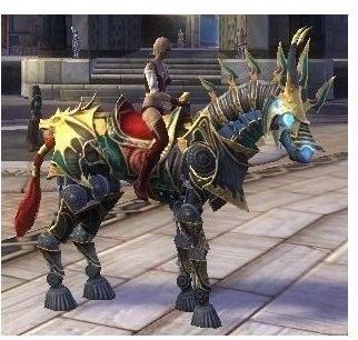 Swift Gold Eldritch War Steed Image