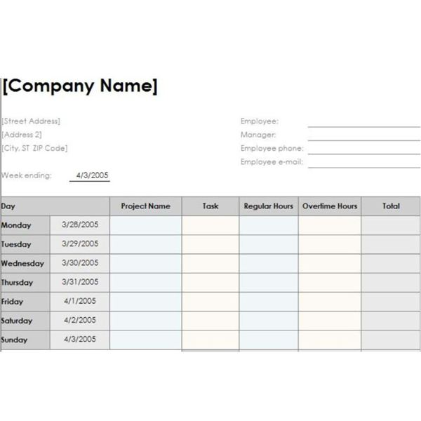 time management tracking sheet thevillas co