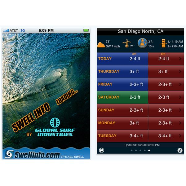 Six Best iPhone Apps for Surfers