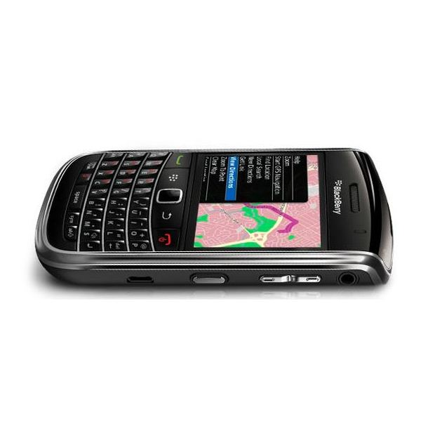 BlackBerry 9650 flat side view