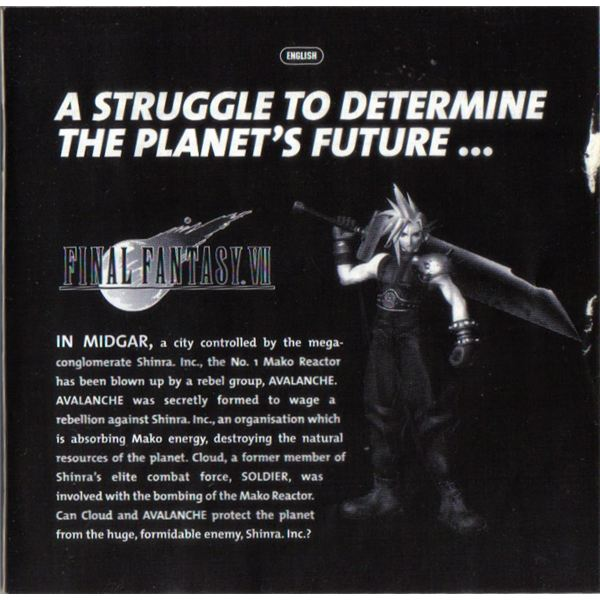 Authors FFVII Manual