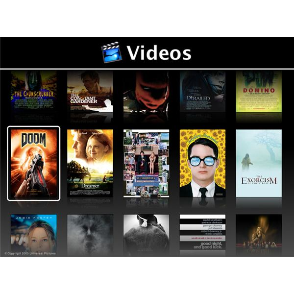 Apple Front Row HTPC Software