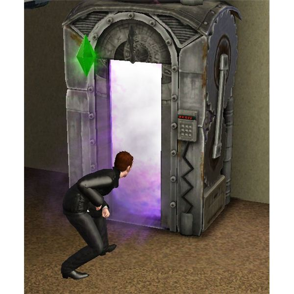 The Sims 3 Time Machine In Use