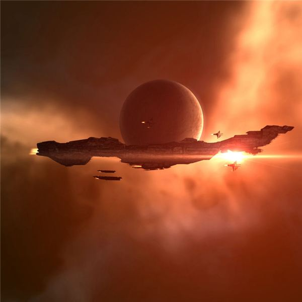 A Ragnarok Orbiting a Planet