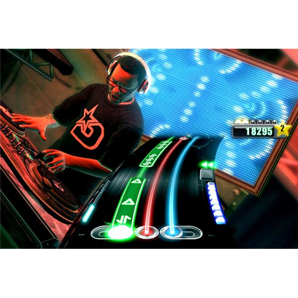 Dj Hero Screenshot 3: DJ Jazzy Jeff Scratchin' Hard